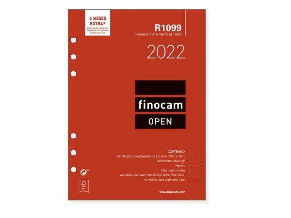 RECAMBIO FINOCAM OPEN 1000 SEMANA VISTA R1099 2021