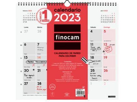 FINOCAM CALENDARIO PARED ESCRIBIR 32X34 L. 2021