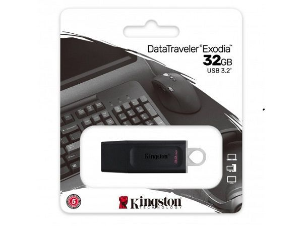 KINGSTON MEMORIA USB DATA TRAVELER EXODIA 3.2 32GB